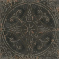 Tin Tile Dark 33 x 33cm From Baked Tiles