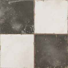 Aged Checkerboard 45 x 45cm From Baked Tiles