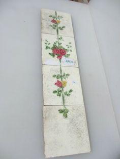 Vintage Ceramic Tiles set - ebay