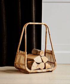 Cane Log Basket